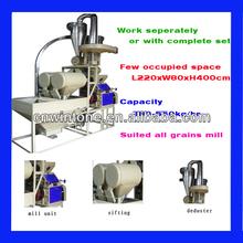 Morden technology small scale farming wheat flour mill