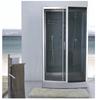 Glass block shower enclosures & shower sliding doors