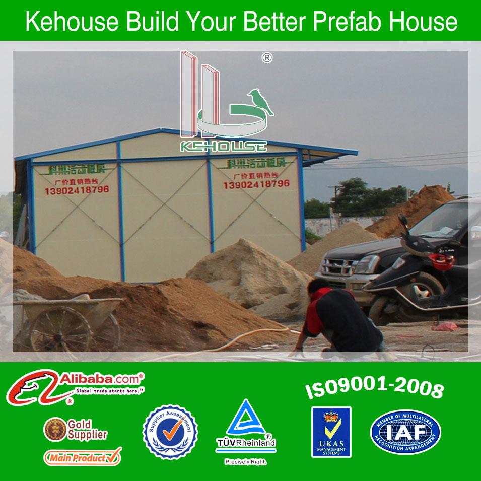 Temporaneo usato veloce costruire casa prefabbricata in acciaio& mobile casa prefabbricata in acciaio& casa prefabbricata in acciaio design