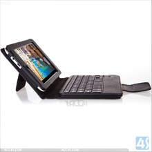 New product Detachable wireless bluetooth keyboard leather case for Asus Memo HD 7