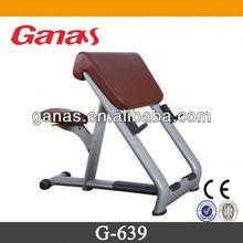 Free weight gym equipment scott bench/bench press dimensions