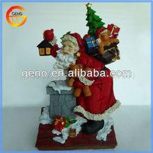 Resin Santa Claus Christmas Ornament Craft Supply