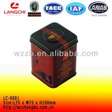 China green tea box packing ,black tea tin