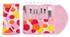 7 pcs makeup brush set 3 color cosmetic bag facial beauty tools