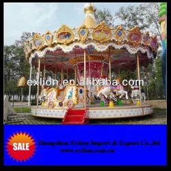 high quality amusement rides kids carousel horse