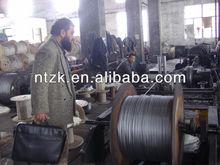 Elevator steel wire rope,structure 8*19+FC jute core,diameter8-22mm