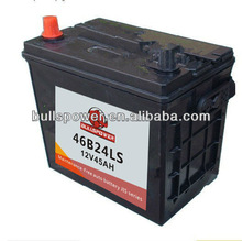 mf 46b24ls auto car battery,batterie auto