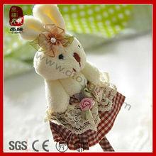 Promotion gifts stationary plush bunny pen