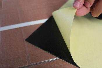 White or Black Self-adhesive PVC Sheet for Photo Album Book
