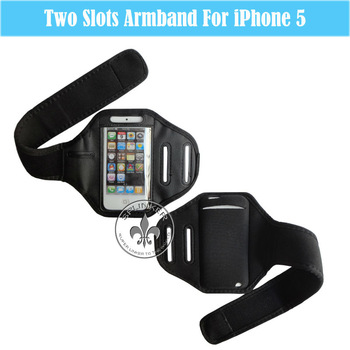 Custom Captain Armband Bag With Velcro For iPhone 5 O6005-32