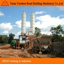Concrete mixing plant HZS25 rc construction equipment