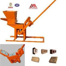 QMR2-40 mud clay brick machine small business machines