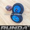color rim small rubber wheel 6x2
