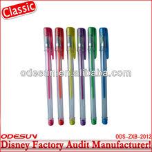 Disney factory audit manufacturer's glitter gel ink pens 143142