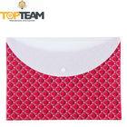 Promotion Wholesale, Plastic Document Envelope, PP File Envelop Bag With Plastic Fastener