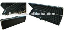 hanadle equipment military carrying gun case for rifle,ABS aluminum long gun case wholesale