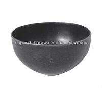 decorative wrought iron half hollow steel ball