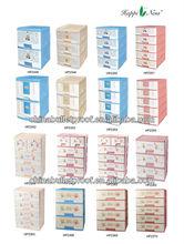 NEW & SEALED! Clear Plastic 4 Drawers Organizer Storage Supplies Box