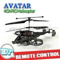 Avatar 4ch helicóptero do rc, infravermelho 4ch helicóptero do rc