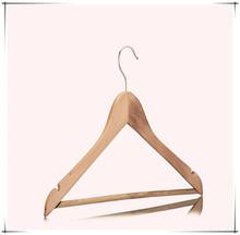 hot selling non-slip luxury wood hanger images for garment