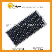 SYK90-18MFX China manufacturer for super fast 12v battery charger 90W 18V mono flexible solar panel