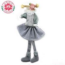 cordón satinado vestido de niña de las flores hechas a mano única muñecas