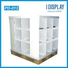 Corrugated pampers cardboard pallet display