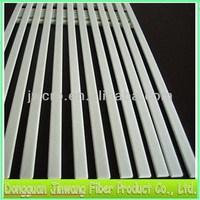 Pultrusion Flat Fiberglass Strip/Sheet/Batten