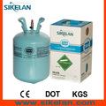 El metano puro/gas refrigerante r134a/r407c/r410a/r404a