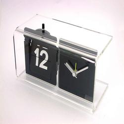 acrylic digital desk flip clock wholesale