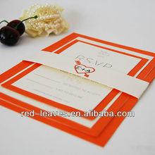 Red Leaves (WEDDING CARD+RSVP+INFO)wedding design card