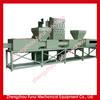 wood working sawdust log making machine / wood working wood shaving hot press machine / wood recycling machine