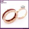 Newest 2 Ring Designs Gold Finger Ring For Girls