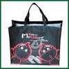 eco pp shopping bag non woven fabric tote bag,black lamination tote bag