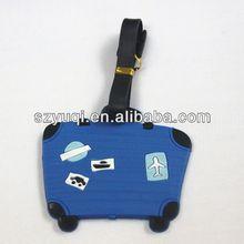 Stylish and cheap plastic golf bag tag