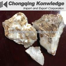 High Quality Oil Drilling Grade Barite Lumps Natural Barium Sulfate Lumps