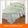 Poliéster colorido conjunto ropa de cama de exceso, 131206(5)