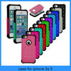 For iphone 5 bling case New Hybrid Rugged Rubber Bling Crystal Hard Case Cover for iPhone 5G 5S(PT-I5248)