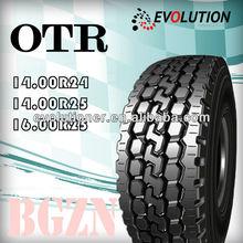 BGZN otr tyre/off the road (otr) tires 1300-24 1400-24/radial otr tire 385/95r24 385/95r25 445/95r25 445