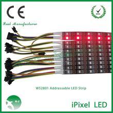 Good price WS2812B programmable led strip IP65