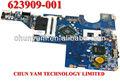 Placa base del ordenador portátil 623909-001 presario cq56 cq62 intel de la serie del ordenador portátil portátil la placa del sistema para hp compaq junta de alta calidad