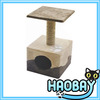 Scratching Post With Cave Seagrass and Softy Cat Toy By Wholesale Pet Products Manufacturer