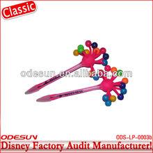 Disney factory audit manufacturer's ball pen with led light 143192