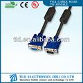 Alta qualidade 6ft cabo do monitor vga cabo projetor portátil para computador/pc