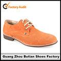 Elegante de color naranja vestido de zapatos de niños zapatos de vestir adolescente zapatos de vestir niño zapatos
