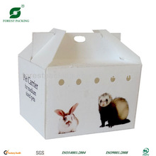 CORRUGATED CARDBOARD PET CARRIER FP414016