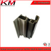 Anodised coating metal profiles for showcase window