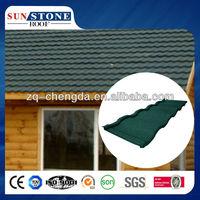synthetic spainish blue interlocked terracotta metal roof tile
