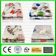 2013 wholesale velvet printed electric blanket