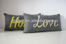 Printed Colorful Felt Cushion with Decorative for Living Room